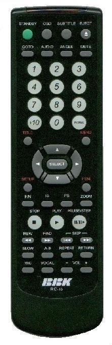 BBK RC-15 (DVD player) (BBK-916S, BBK-931S, BBK-938S, BBK-939S, BBK-969S)