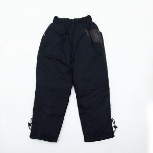 черные утепленные детские брюки