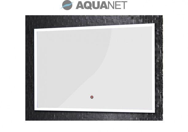 Зеркало Aquanet DL-03D 90*60, с внутр LED подсветкой, а алюм раме + Touch sensor (180769)