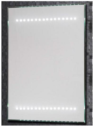 Зеркало Aquanet LED-04,50*70 , с внутренней подсветкой+ IR sensor (180761)