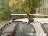 Багажник на крышу Hyundai Sonata NF, Атлант, прямоугольные дуги