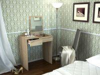 Туалетный столик с зеркалом Риано 1
