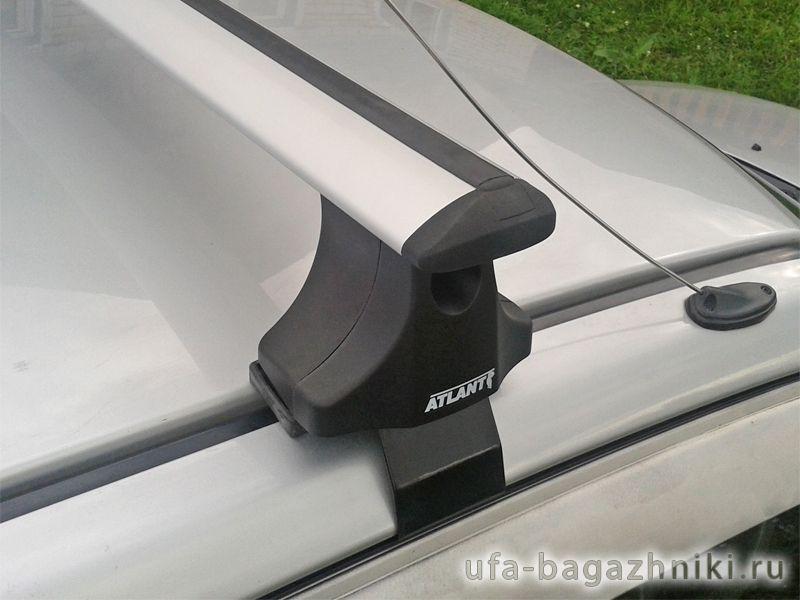 Багажник на крышу Hyundai Getz, Атлант, крыловидные аэродуги