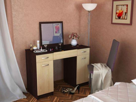 """Туалетный столик с зеркалом """"Риано 5"""""""