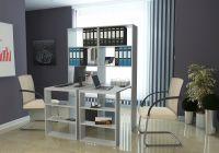 Стеллаж со столом Рикс 4545