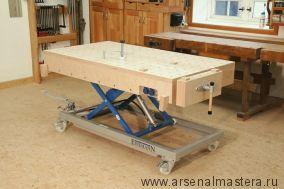 Столярные верстаки и столы для столярных работ: варианты и конструктивное исполнение
