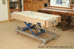 Столярные верстаки и столы для столярных работ: варианты и конструктивное исполнение. Фотообзор