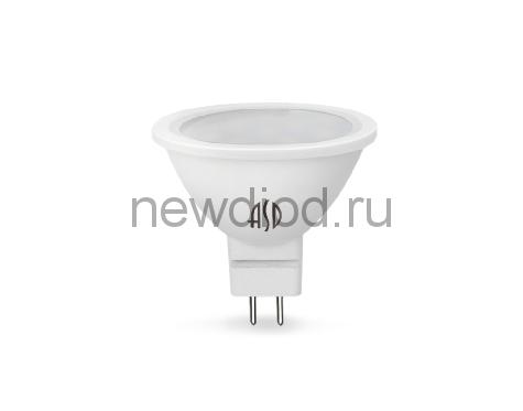 Лампа светодиодная LED-JCDR-standard 7.5Вт 160-260В GU5.3 4000К 675Лм ASD