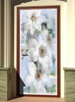 Наклейка на дверь - Воспоминание | магазин Интерьерные наклейки