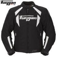 Мотокуртка Furygan Chrome, Черно-белая