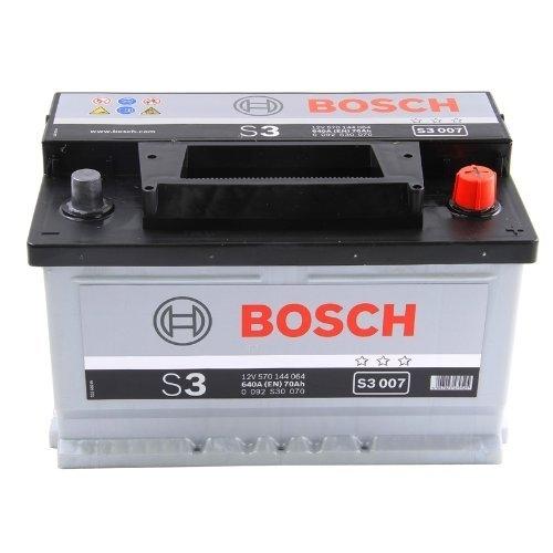 Автомобильный аккумулятор АКБ BOSCH (БОШ) S3 007 / 570 144 064 S3 70Ач о.п. низкий