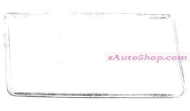 MERCEDES 190 (201) 10.82 - 08.93 :Стекло фары правое (без рамочки, тип=BOSCH)