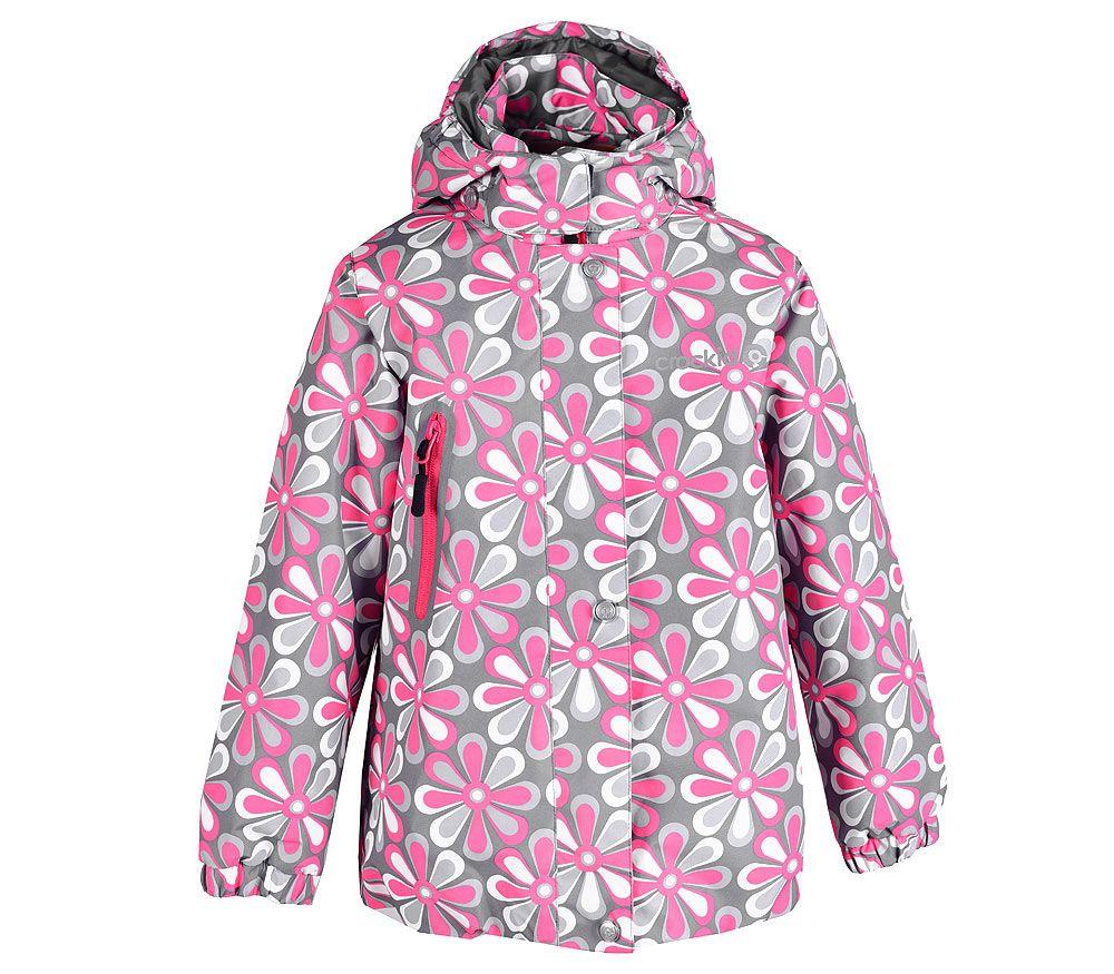 Куртка из мембраны для девочки от Крокид