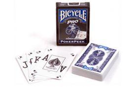 Карты Bicycle Pro PokerPeek (пр-во США)