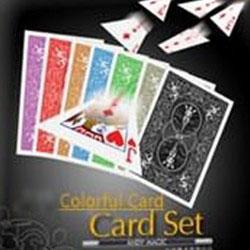 Colorful Card Set Разноцветный карточный набор
