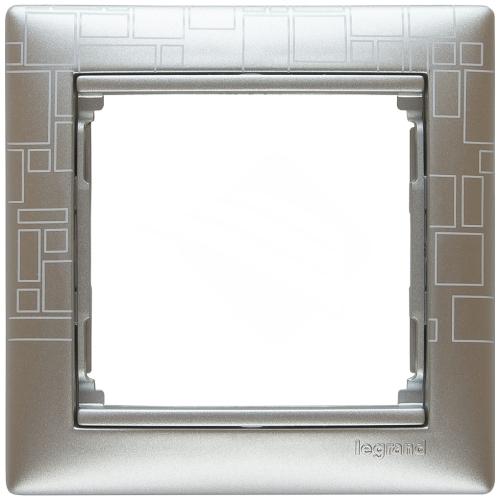 Рамка Valena алюминий модерн 770341