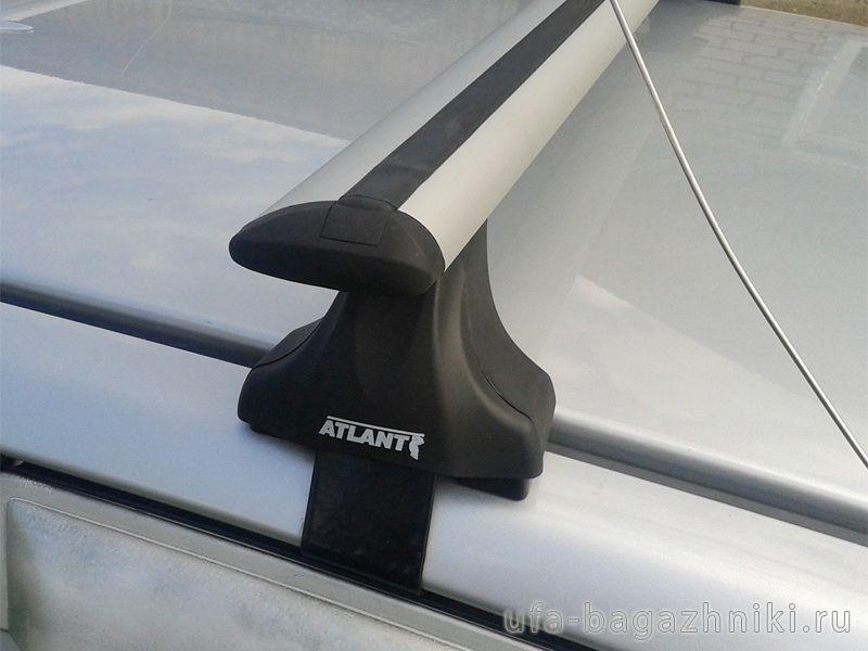 Багажник на крышу Hyundai Tucson TL 2015-..., Атлант, крыловидные дуги