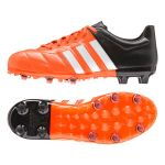 Детские бутсы adidas Ace 15.1 Leather FG/AG Junior оранжевые