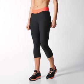 Женские бриджи 3/4 adidas Ultra 3/4 Tight чёрные