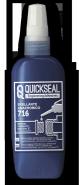 Анаэробный герметик средней фиксации синий QUICKSEAL 716 50г
