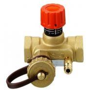 Клапан ручной регулировки USV-I с пред настройкой со спуск краном, ВР, PN16; DN 25  Арт.003Z2133