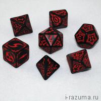 Кубики ДНД Tribal (D&D)