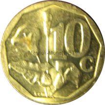ЮАР 10 центов 2003 г.