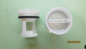 Фильтр пробка насоса для стиральной машины Indesit Индезит Ariston Аристон C00045027