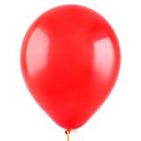 """Красный, 12"""", пастель, 100 шт"""