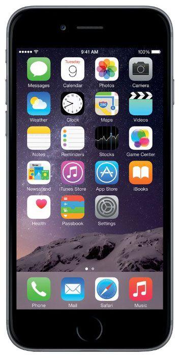 Мобильный телефон Apple iPhone 6 64 Gb Space Gray A1586