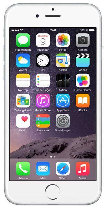 Мобильный телефон Apple iPhone 6 128 Gb Silver A1586