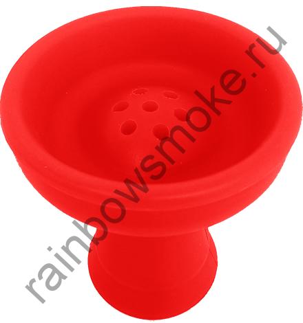 Силиконовая чаша красная (стандарт)