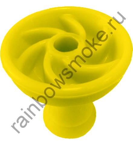Силиконовая чаша жёлтая (вихрь)