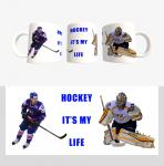 Кружка с хоккейной символикой (Арт. К-1012)