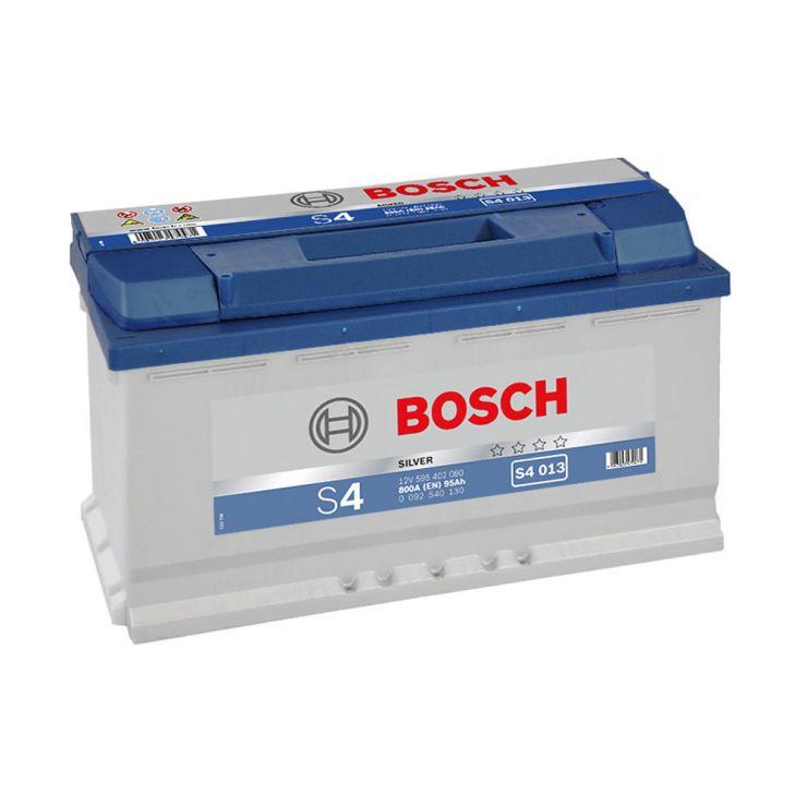 Автомобильный аккумулятор АКБ BOSCH (БОШ) S4 013 / 595 402 080 S4 Silver 95Ач о.п.