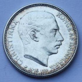 1 крона Дания 1916 Состояние: UNC
