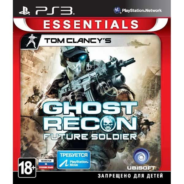 Игра Tom Clancy's Ghost Recon: Future Soldier (PS3,PS Move)