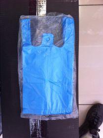 Пакет майка. Цвет - синий. (15*30). В упаковке - 80шт.