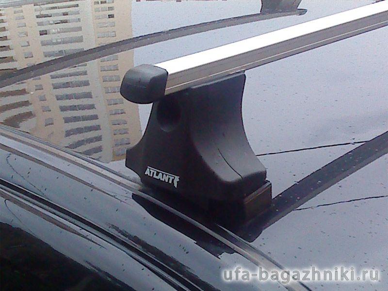 Багажник на крышу Volkswagen Golf 4, Атлант, прямоугольные дуги