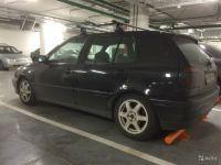 Багажник на крышу Volkswagen Golf 4, Атлант, крыловидные аэродуги