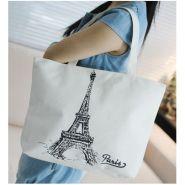 Летняя сумка Эйфелева башня