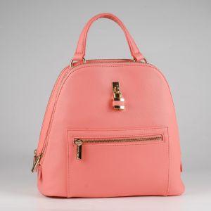 Рюкзак женский 1512510; экокожа; розовый