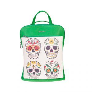 Рюкзак женский 1513910; экокожа; зеленый