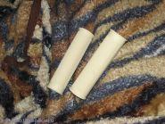 Ручки руля светлые с низкой отбортовкой