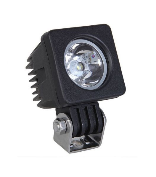 Квадратная модульная светодиодная LED фара рабочего света 10W