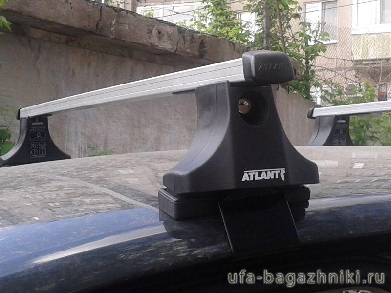 Багажник на крышу Volkswagen Passat B5, Атлант, прямоугольные дуги