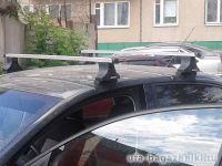 Багажник на крышу Volkswagen Passat B4, Атлант, прямоугольные дуги