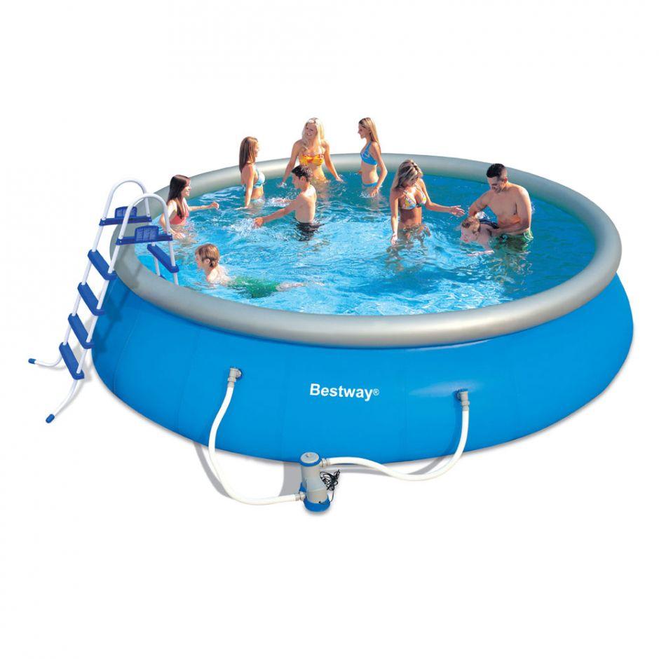 Надувной бассейн Bestway 57236 (549х132)