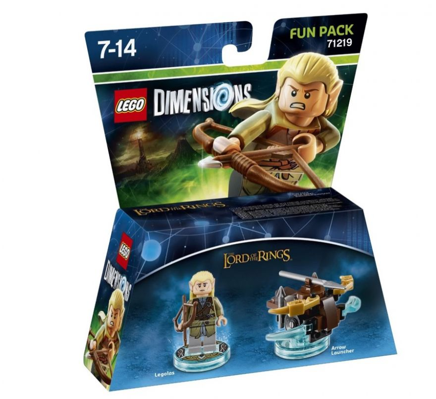 Lego Dimensions 71219 Legolas (серия Lord of the Rings)