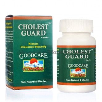 Холест Гард для снижения холестерина Goodcare Pharma Cholest Guard Capsules